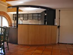 cuisine ouverte avec bar meuble bar cuisine gallery of chambre enfant bar plan de travail