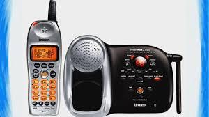 ge 5 8 ghz black cordless analog single handset phone with caller