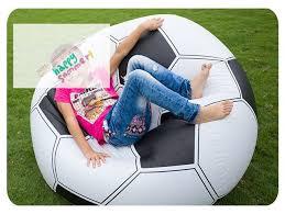 canap intex intex 68557 gonflable de football football air canapé siège chaise