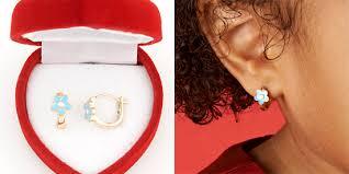 children s hoop earrings children s enamel jewelry