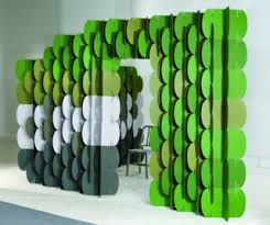Cardboard Room Dividers by Cardboard Walls Stylephile A Boston Globe Blog On Home And