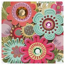Flower Alt Code - papyrus flower pot mother u0027s day card with gems target
