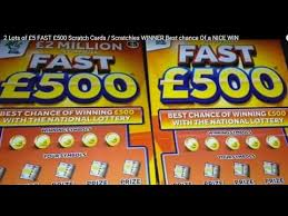 best scratch cards 2 lots of 5 fast 500 scratch cards scratchies winner best