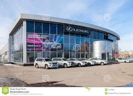 wilkie lexus cpo official dealer lexus in samara russia editorial photography