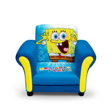 sofa chair for toddler delta children u0027s products nickelodeon spongebob upholstered chair