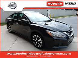 nissan altima 2018 black 2018 altima modern nissan of lake norman