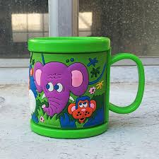 design plastic mug wholesale customized design plastic cold drinking milk mugs for