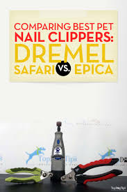 dremel vs safari vs epica comparing best pet nail clippers for dogs