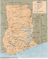 Accra Ghana Map Ghana Map Travelsfinders Com