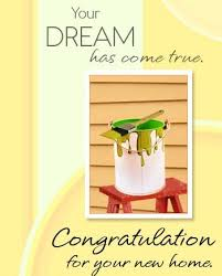 congrats on your new card congratulations on your new home new home wishes