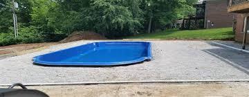 prefabricated pools large small fiberglass pools san juan pools backyard