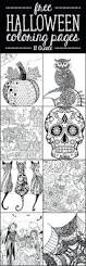 coloring pages halloween flower inspirational page gift wall
