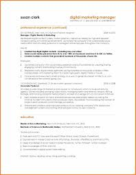 Resume Format For Advertising Agency Marketing Resume Samples Sop Proposal