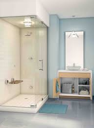 Showers And Bathrooms Shower Stall For Small Bathroom Corner Stalls Intended Showers