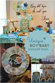 baby shower theme for boy baby shower theme ideas for boys blue flower wall decoration for