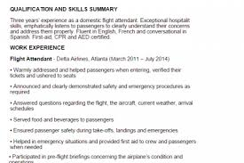 Flight Attendant Resume Samples by Top 12 Flight Attendant Resume Tipsin This File You Can Ref