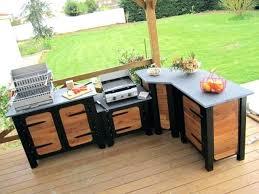 cuisine d été en bois cuisine d ete exterieure cuisine d ete exterieur exterieure modele
