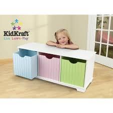 banc chambre enfant banc pour chambre d enfant en bois avec casier de rangement achat