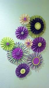 Paper Craft Decoration Ideas 1000 Ideas About Paper Wall Art On Pinterest Paper Walls