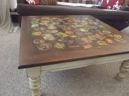 coffee table with cooler coffee table cooler combo