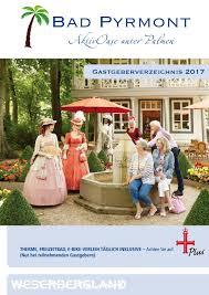 Reha Zentrum Bad Driburg Gastgeberverzeichnis 2017 By Bad Pyrmont Tourismus Gmbh Issuu