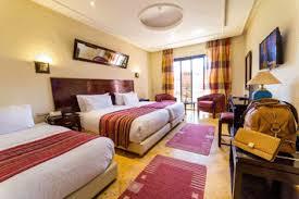 chambre marrakech pas cher hôtel 3 palmiers