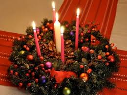 advent wreath candles how to make a simple cardboard base for an advent wreath