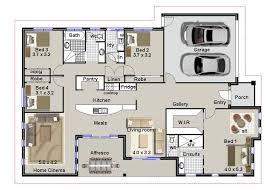 australian floor plans bedroom house home design building plans