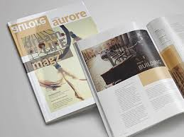 free indesign magazine template by graphicboat dribbble
