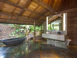 Best Tropical H O M E Images On Pinterest Villas Tropical - Balinese bathroom design