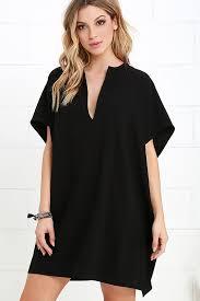black shift dress chic black dress shift dress dress 42 00