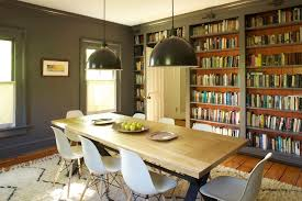 bookshelves in dining room bookshelves with lighting living room contemporary with captain s