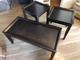 black coffee and end tables black coffee and end tables furniture home by owner for sale on
