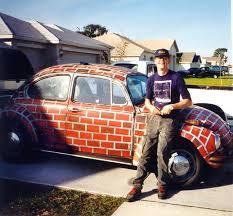 custom car humor funny paint job vw the volkswagon