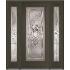 Ashworth By Woodgrain Millwork by Left Hand Inswing Single Door With Sidelites Front Doors