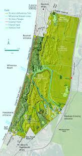 Map Of Queens Queen Elizabeth Park Greater Wellington Regional Council