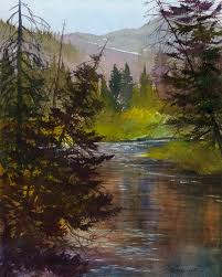Home Environment Design Group Paul Wilsher by Plein Air Artists Colorado Home