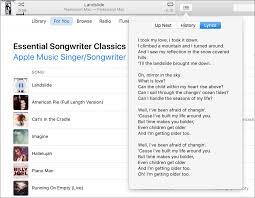 Bad Apple Lyrics Itunes 12 5 And Ios 10 Music App To Add Lyrics To Song Playback