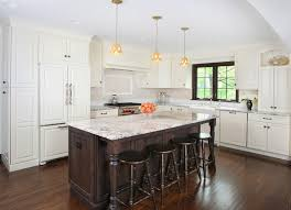 granite kitchen island with seating impressive white carrara granite remodeling ideas with cabinets