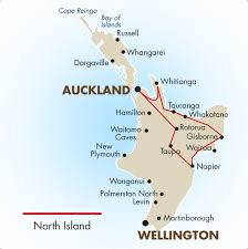 North Island New Zealand Self Drive Tour
