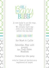 cool gender neutral baby shower invitations wording 91 on thank
