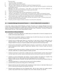Bank Reconciliation Resume Sample by Bank Reconciliation Resume Sample
