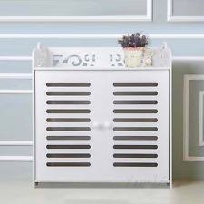 White Shoe Cabinet With Doors by Shoe Cabinet Ebay