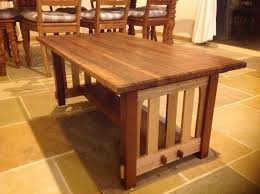 Woodworking Plans For Kitchen Tables by How To Build A Mission Style Coffee Table In The Arts And Crafts