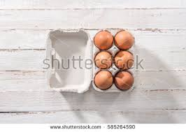 wooden easter eggs that open egg box stock images royalty free images vectors
