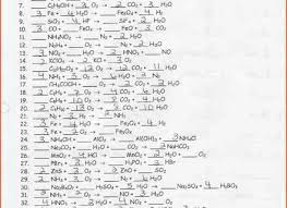 9 balancing chemical equation worksheet balancing chemical