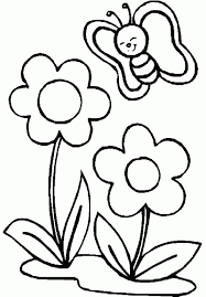 coloring pictures of small butterflies flowers with small butterfly coloring pages for kids pb inside