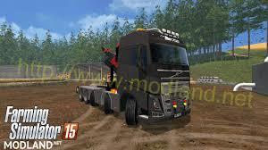 2015 volvo semi truck volvo fh16 750 10x4 frame flt semi v 2 0 mod for farming simulator