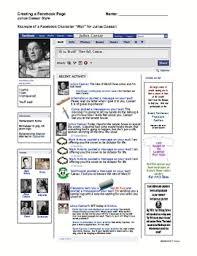 julius caesar facebook lesson creative activity julius caesar