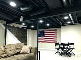 should i paint my ceiling white basement painting basement ceiling exposed painted black paint